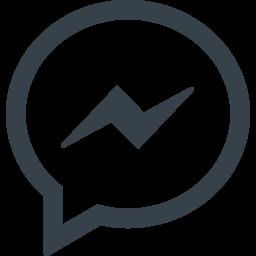 Facebook Messengerの無料アイコン素材 1 商用可の無料 フリー のアイコン素材をダウンロードできるサイト Icon Rainbow