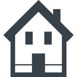 一軒家の家アイコン素材 商用可の無料 フリー のアイコン素材をダウンロードできるサイト Icon Rainbow