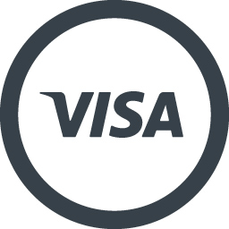 Visaのロゴアイコン素材 1 商用可の無料 フリー のアイコン素材をダウンロードできるサイト Icon Rainbow
