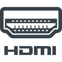 Hdmi端子の接続口の無料アイコン素材 3 商用可の無料 フリー のアイコン素材をダウンロードできるサイト Icon Rainbow