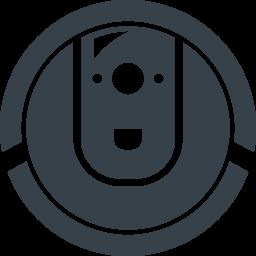 ロボットの掃除機アイコン 2 商用可の無料 フリー のアイコン素材をダウンロードできるサイト Icon Rainbow