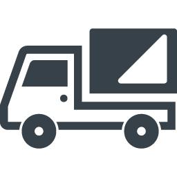シンプルなトラックのアイコン素材 1 商用可の無料 フリー のアイコン素材をダウンロードできるサイト Icon Rainbow
