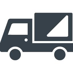シンプルなトラックのアイコン素材 3 商用可の無料 フリー のアイコン素材をダウンロードできるサイト Icon Rainbow