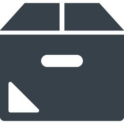 正面から見たダンボールのアイコン素材 1 商用可の無料 フリー のアイコン素材をダウンロードできるサイト Icon Rainbow