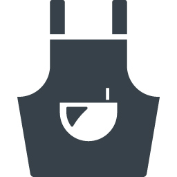 エプロンのアイコン素材 1 商用可の無料 フリー のアイコン素材をダウンロードできるサイト Icon Rainbow