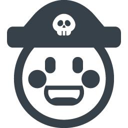海賊帽をかぶった子供のアイコン 商用可の無料 フリー のアイコン素材をダウンロードできるサイト Icon Rainbow