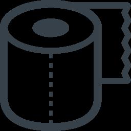 ロールペーパーのアイコン 2 商用可の無料 フリー のアイコン素材をダウンロードできるサイト Icon Rainbow