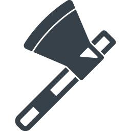 斧のアイコン素材 2 商用可の無料 フリー のアイコン素材をダウンロードできるサイト Icon Rainbow