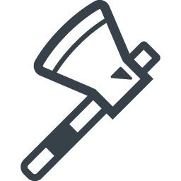 斧のアイコン素材 3 商用可の無料 フリー のアイコン素材をダウンロードできるサイト Icon Rainbow