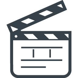 映画のカチンコのアイコン 2 商用可の無料 フリー のアイコン素材をダウンロードできるサイト Icon Rainbow