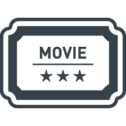 映画のチケットのアイコン 商用可の無料 フリー のアイコン素材をダウンロードできるサイト Icon Rainbow