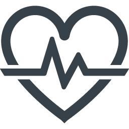 ヘルスケアのハートのマークアイコン 1 商用可の無料 フリー のアイコン素材をダウンロードできるサイト Icon Rainbow