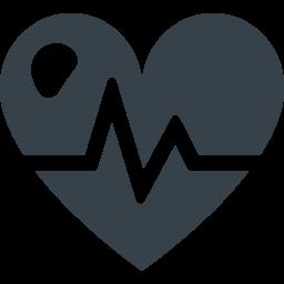 ヘルスケアのハートのマークアイコン 2 商用可の無料 フリー のアイコン素材をダウンロードできるサイト Icon Rainbow