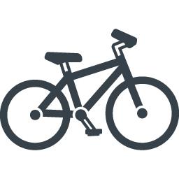 自転車の無料アイコン素材 14 商用可の無料 フリー のアイコン素材をダウンロードできるサイト Icon Rainbow